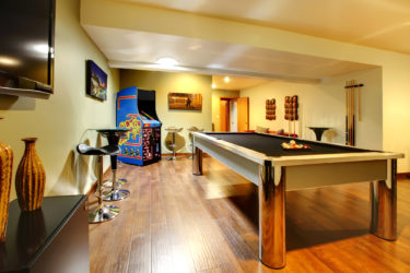 Clubhouse for an Association with a pool table